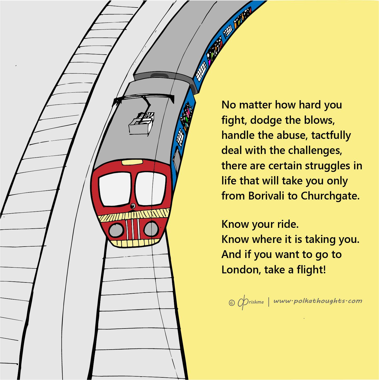 Mumbai local trains struggles